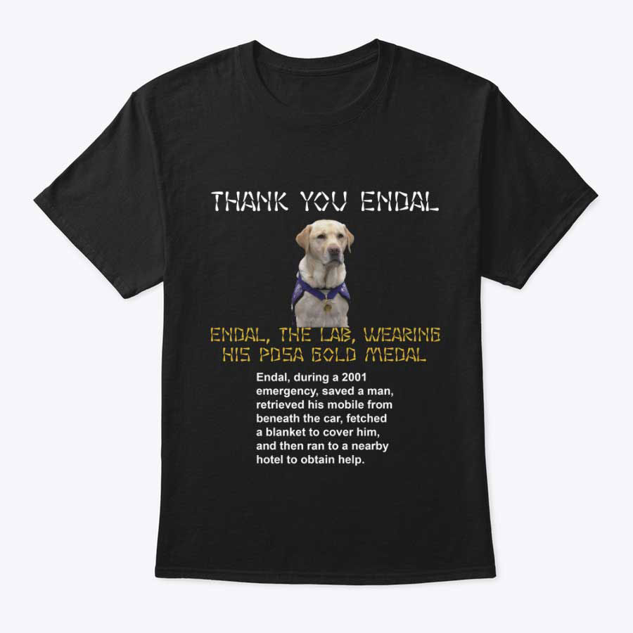 ENDAL THE LAB - THANK YOU ENDAL T SHIRTS
